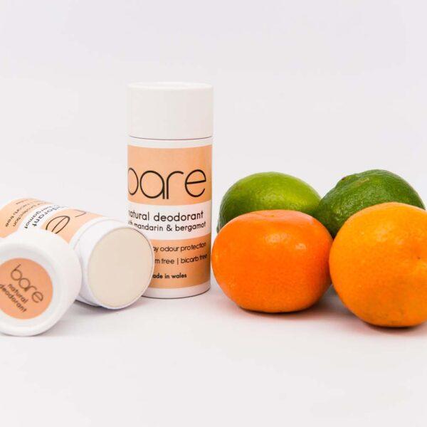 Natural Deodorant with Mandarin and Bergamot
